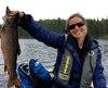 Caroline Leclerc est de retour à l'animation avec l'émission Vacances Nature sur les ondes de RDS.