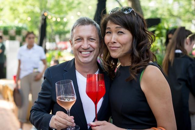 Thierry Daraize et Lu Chang Khuong