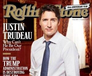 Le Rolling Stone se demande même si Justin Trudeau n'est pas le meilleur espoir du monde libre.