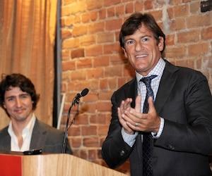 Justin Trudeau et Stephen Bronfman, en 2012 sur la photo, sont des amis de longue date.