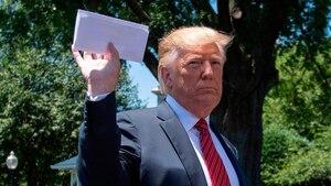Trump révèle le contenu d'un document secret