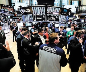 US-STOCKS-OPEN-FRIDAY-TRADING-DAY-ON-WALL-STREET