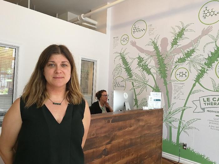 Erin Prosk, présidente et cofondatrice de Santé Cannabis à Montréal souhaite que cannabis soit aussi vendu en pharmacie et couvert par les régimes d'assurance-médicaments.
