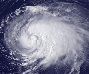 Leslie ouragan