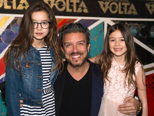 Jean Airoldi et ses filles