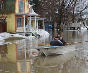 La municipalité de Saint-Joseph-de-Beauce a été durement touchée par des inondations en avril dernier.