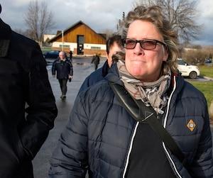 <b>Chantal Racette</b><br /><i>Présidente des cols bleus de Montréal</i>