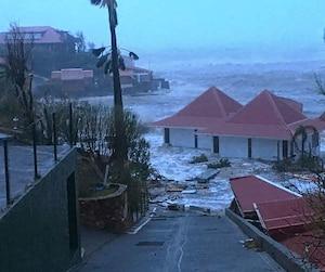 L'ouragan Irma a causé d'importantes destructions sur l'île de Saint-Barthélemy.