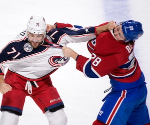 Nick Foligno et Nathan Beaulieu