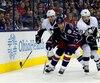 Brandon Dubinsky est suspendu une partie à la suite d'un double-échec assené dans le cou de Sidney Crosby.