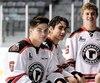 Édouard Cournoyer, Nicolas Savoie et Romain Rodzinski, tous âgés de 17 ans, ainsi que Dylan Schives, 18 ans, sont au cœur de la jeune brigade défensive des Remparts.