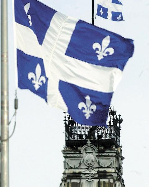 Bloc Québec drapeau