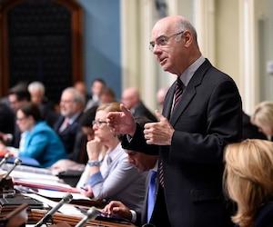 Jacques Daoust a fait partie du caucus libéral de 2014 à 2016 avant de démissionner.