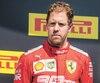 Sebastian Vettel n'a pas souri beaucoup sur le podium après la course de dimanche au circuit Gilles-Villeneuve.