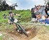 Raphaël Gagné, ici en train de participer à la finale UCI de vélo de montagne au Mont-Saint-Anne le 6 août dernier, est le premier Nord-Américain à signer pour trois ans avec l'européenne Silverback OMX.