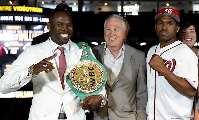 Adonis Stevenson, Yvon Michel et Thomas Williams Jr