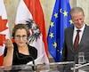 """Le président du Parlement européen Martin Schulz et la ministre canadienne du Commerce Chrystia Freeland étaient en entretien samedi dans l'espoir de """"relancer les négociations"""" autour du traité de libre-échange entre l'UE et le Canada (Ceta), selon le compte Twitter de M. Schulz."""