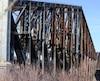 Le Journal a pu constater l'état de décrépitude du pont de Québec.