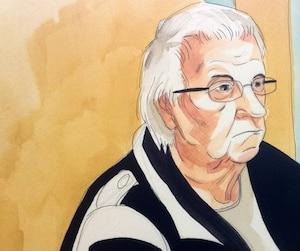 Gilles Marcil a écouté presque sans broncher le juge Normand Bonin rendre sa sentence hier.
