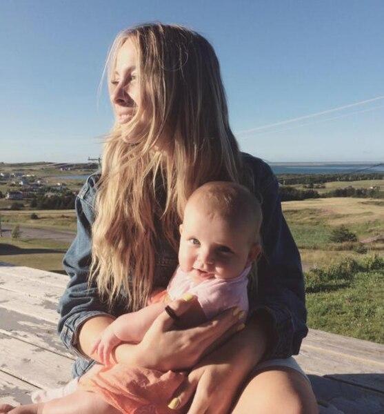 Marie-Mai partage des photos de famille