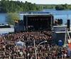 Dès le début de l'après-midi, la foule s'agglutinait près d'une des cinq scènes. Près d'une centaine de spectacles ont été présentés ce week-end.