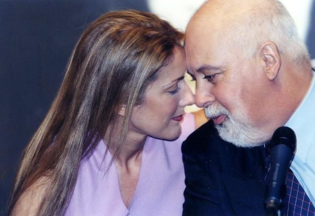 Céline Dion et René Angelil. Septembre 1999. Photo Raynald Leblanc / Le Journal de Montréal.
