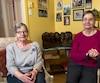 Annette et Cécile, les deux jumelles Dionne encore vivantes.