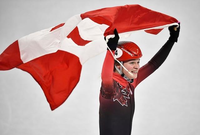 Faisant fi de toutes les formes d'adversité depuis le début des Jeux de Pyeongchang, Kim Boutin s'avère le chef de file de l'équipe canadienne de patinage de vitesse. Jeudi, elle a ajouté une troisième médaille olympique à sa récolte.