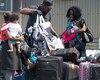 Les familles de migrants sont nombreuses à se présenter sur le rang Roxham, à Saint-Bernard-de-Lacolle, en Montérégie.