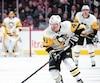 Daniel Sprong a orchestré quelques montées pour les Penguins contre le Canadien, samedi soir.