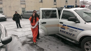Miranda Barbour, accusée de meurtres, en pennsylvanie