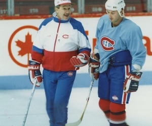 Mario Roberge et Jacques Demers