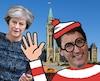 Justin Trudeau rencontre la première ministre du Royaume-Uni Theresa May le 18 septembre à Ottawa.