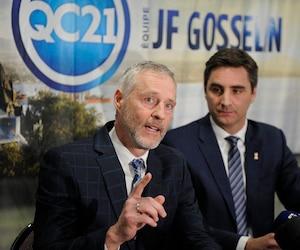 Richard Côté et Jean-François Gosselin