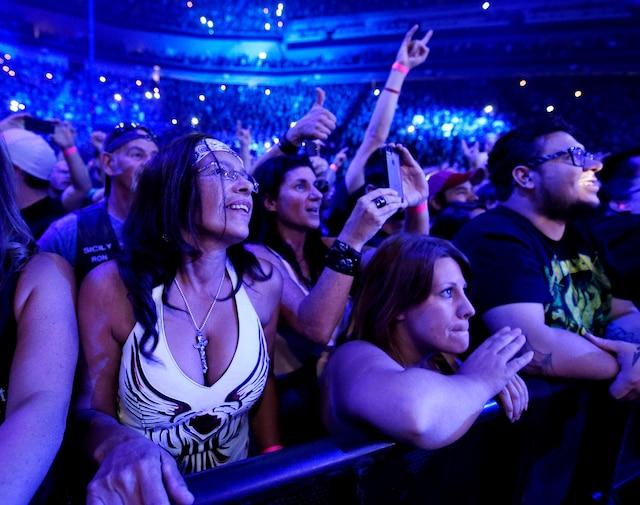 Metallica a offert le premier spectacle de l'histoire du Centre Vidéotron mercredi soir.