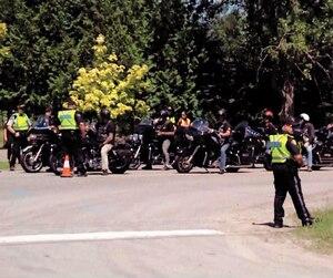 Des centaines de Hells Angels et de groupes sympathisants commenceront à arriver dès aujourd'hui à Saint-Hyacinthe, sous une étroite surveillance policière, pour le Canada Run, comme ce fut le cas à Carlsbad Springs, près d'Ottawa, en 2016.