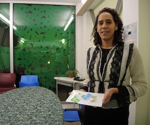 La directrice de Cactus Montréal, Sandhia Vadlamudy, a milité pendant plus de 10 ans pour les sites d'injection supervisée.