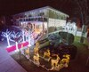 Jusqu'à Noël, la maison située à Saint-Léonard est éclairée de 28 000 lumières.