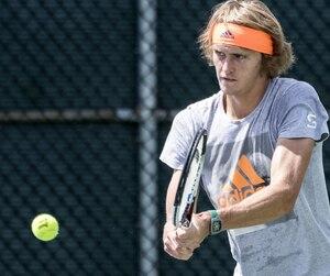 L'Allemand Alexander Zverev a connu une progression fulgurante dans le classement de l'ATP depuis deux ans.