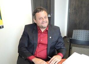 Le nouveau président du Carnaval, Denis Simard