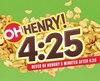 Oh Henry! a eu un éclair de génie en commercialisant une édition limitée d'une palette chocolat spécialement conçue pour les trips de bouffe.