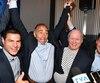 L'ex-entraîneur des Saguenéens de Chicoutimi Richard Martel a remporté l'élection partielle dans Chicoutimi-Le Ford lundi soir sous la bannière du Parti conservateur du Canada.