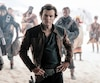 Alden Ehrenreich sous le blouson de Han Solo dans «Solo: A Star Wars Story».