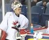 Samuel Harvey se rapportera aux Huskies de Rouyn-Noranda puisqu'il a fait partie de la vague de six retranchements annoncée par Hockey Canada jeudi soir.