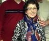 Zèlia Ponte Araujo et ses fils Jim (à gauche) et Robert.