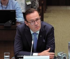 Le PDG de Desjardins, Guy Cormier (photo), s'est expliqué, lundi, en commission parlementaire, à Ottawa, au sujet du vol de données.