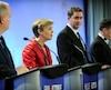 Kellie Leatch (photo) et Deepak Obhrai ont fait piètre figure lors du débat entre les candidats à la chefferie du PCC à Québec, mardi soir.