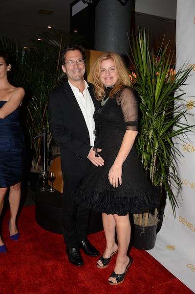 Sylvie Moreau et son conjoint.