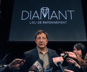 Le metteur en scène, Robert Lepage.