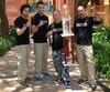 Jérémi Doyle Smith, Stephen Guimond, François Daneau et Jean-Alexandre Poirier ont remporté le titre de champion du monde en autodéfense à l'Omnium des États-Unis de karaté disputé à Orlando, en Floride.